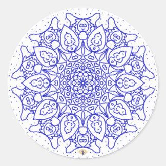 O duende de Bloo - etiqueta da mandala de Bloo
