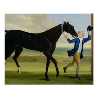 """O duque do preto """"bonito"""" de Rutland, c.1720 (óleo Impressão"""
