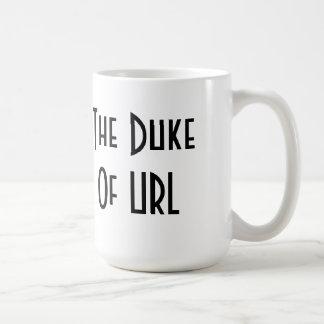 O duque do URL Caneca De Café