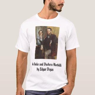 O duque e a duquesa Morbilli - C. 1865 - Edgar… Camiseta