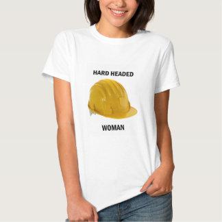 O duro dirigiu a mulher camiseta