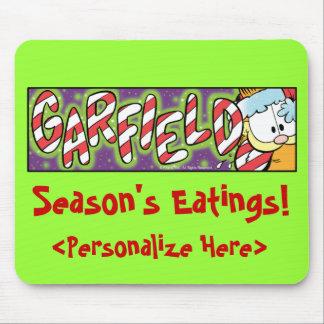 O Eatings Mousepad da estação de Garfield Logobox