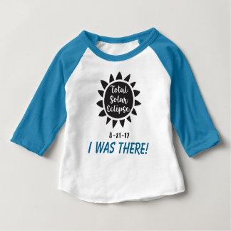 O eclipse 2017 solar total eu estava lá camiseta