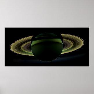 O eclipse de Saturn revisitado Pôster
