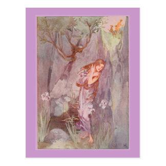 O eco & o narciso de Stratton Cartão Postal