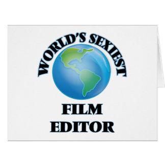 """O editor o mais """"sexy"""" do filme do mundo cartoes"""