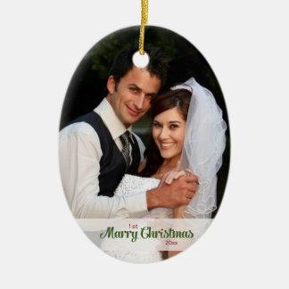 ø Enfeites de natal casados