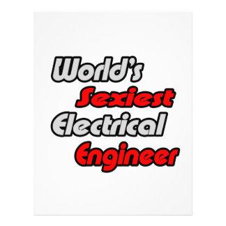 """O engenheiro electrotécnico o mais """"sexy"""" do mundo modelos de panfleto"""