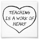 O ensino é um trabalho do coração fotos