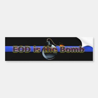 O EOD é a bomba Adesivo Para Carro