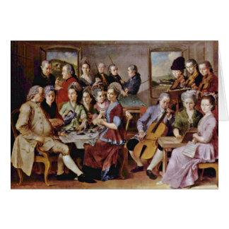 O eremita por Hubert Van Eyck (a melhor qualidade) Cartão