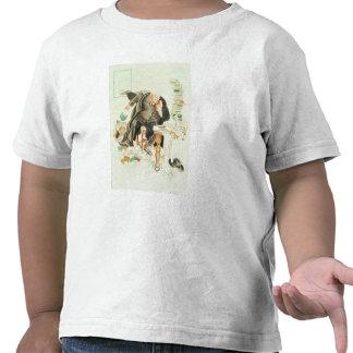 O esboço de desenhos animados Satirical de Sanity Camiseta