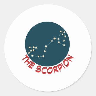 O escorpião adesivo