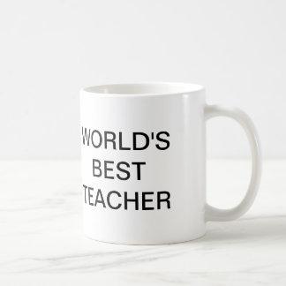 O escritório, o melhor professor do mundo caneca de café