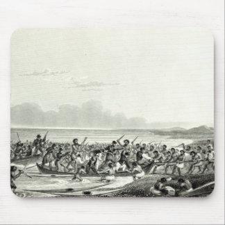 O Eskimoes que pilha os barcos Mouse Pad