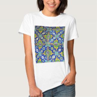 O esmalte antigo de Iznik telha a era do otomano T-shirt