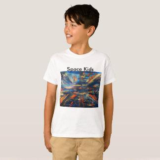 O espaço caçoa o t-shirt camiseta
