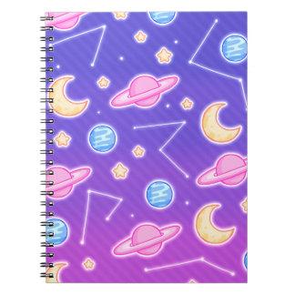 O espaço! Caderno