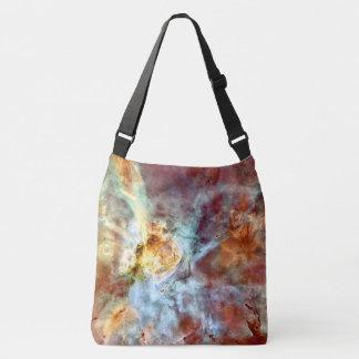 O espaço ensaca o abstrato colorido bolsa ajustável