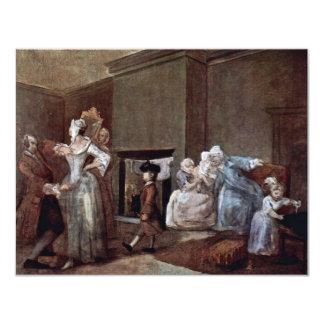 O espartilho, por Hogarth William (a melhor Convite