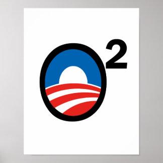 O esquadrou o termo de Obama em segundo Posteres