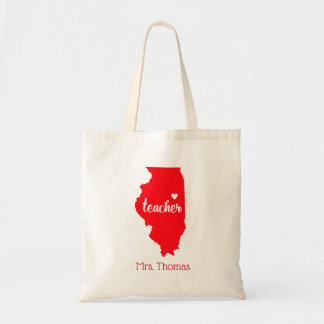 O estado de Illinois personalizou o bolsa do