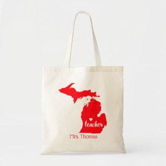 O estado de Michigan personalizou o bolsa do