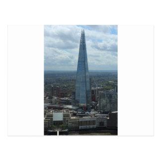 O estilhaço, Londres Cartão Postal