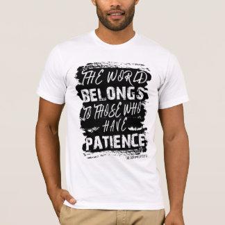 O estilo de vida de Don - o mundo pertence camisa