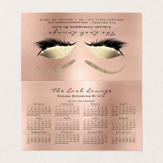 O estúdio 2018 da beleza do calendário chicoteia o