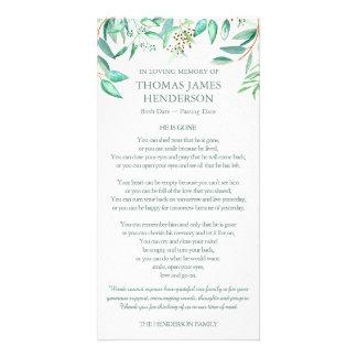 O eucalipto sae de cartões de agradecimentos