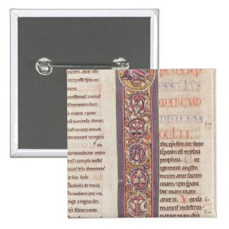 O evangelho de St Mark Bóton Quadrado 5.08cm