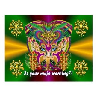 O evento do carnaval vê por favor sugestões cartoes postais