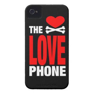 O exemplo da case mate do telefone do amor capas para iPhone 4 Case-Mate
