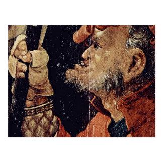 O exemplo do cristo sob o detalhe transversal por  cartão postal
