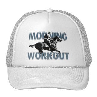 O exercício da manhã boné