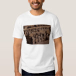 O exército do terra - guerreiros do cotta no t-shirts