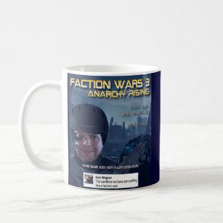 O factor guerreia caneca de café