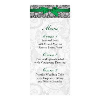 O falso atam e o menu do casamento do verde