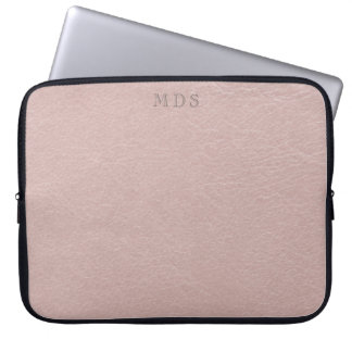 O falso cora a bolsa de laptop de couro capa para notebook