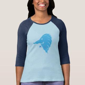 O fantasma do ouriço camisetas