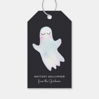O fantasma pequeno o mais bonito o Dia das Bruxas Etiqueta Para Presente