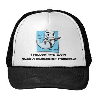 O fantasma ZAP o chapéu Boné