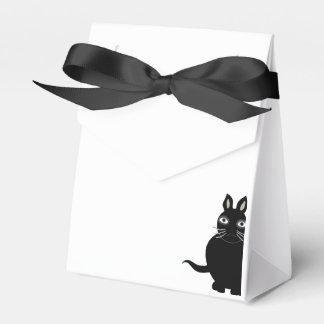 """O favor encaixota """"o gato preto """" caixinha de lembrancinhas"""