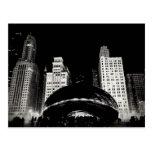 O feijão de Chicago Cartão Postal