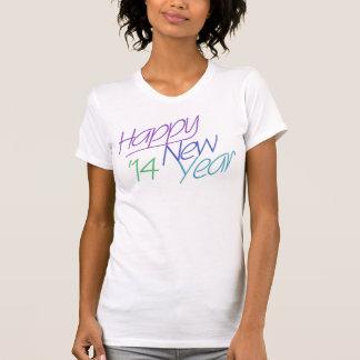 O feliz ano novo 2014 t-shirts