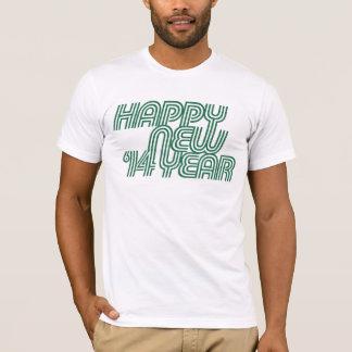 O feliz ano novo 2014 camiseta