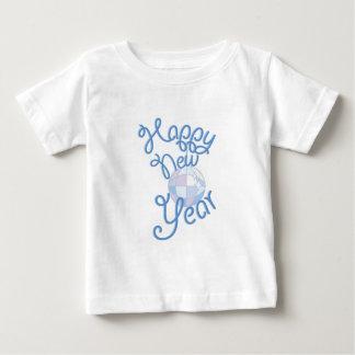 O feliz ano novo camiseta para bebê