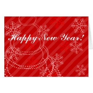 O feliz ano novo! cartoes