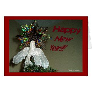 O feliz ano novo cartoes
